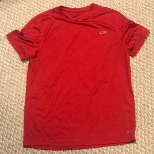 Champion red t shirt